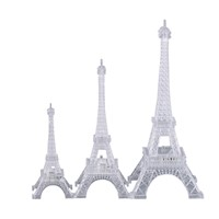 3D LED Night Light The Eiffel Tower 3D Illusion Night Lamp Color Changing Table Desk Lamps