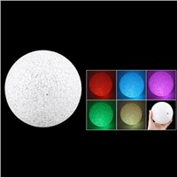 "Promotion! Plastic Crystal Ball Design Change Colorful Light LED Lamp 4.7"" Dia"