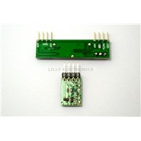433RF Receive Transmitter +Superheterodyne 3400 Radio Frequency Receiving Module