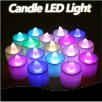 10PCS/lot,  LED lovely Candle 7 Color Change good night light , Night Lamp, Hanging/Table Lamp,bedroom lighting