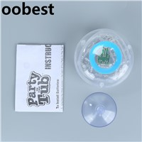 Oobest Boy Kids Bath Led Night Light Fun LED Party In The Tub Waterproof Night Lamp Bathtub Light Up Toys