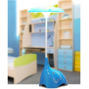 Kids LED Night Lights Children Room Lamp Baby Bedroom Lamparas Novelty Product Elephant Light Charging Battery Sensor