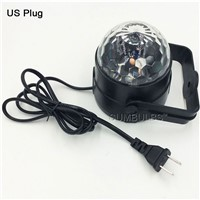 EU/ US Plug DISCO BALL PARTY LIGHTS Bluetooth Remote Control Mini Stage Effect Light Crystal Decor Lamp with MP3 Music Player