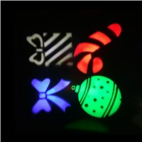 LED Christmas lights snow heart gift Christmas Pattern Laser Lights AC220V garland wedding party stage decoration fairy Lights