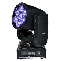 TIPTOP TP-L6W5 7 x12W RGBW 4in1 Zoom Wash Beam LED Bee Eyes Moving Head lights for stage disco DMX 16 Channels Light Weight
