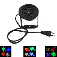 Laser Projector Lamps LED Stage Light  Snow flying Christmas Party Landscape Light Garden Lamp Outdoor Lighting