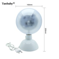 Tanbaby Disco Light DJ 360 Degree Rotating RGB Star Sky LED Desktop Stage Light Crystal Ball Lamp DMX  Party Halloween Christmas