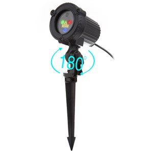 RGB Laser Projector Remote Static Star Dots Light Garden Outdoor Waterproof IP65 for Christmas Tree Xmas Holiday Shower Lighting