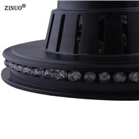 ZINUO AC85-265V Led Stage Lamp Mini Auto Rotating Crystal Magic Ball  Colorful  For Party Disco DJ Bar Light