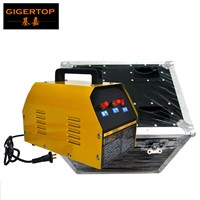 Flight Case Pack Mini Confetti Machine Air Compressor Electrical Control 20KG Air Charging Piston Reciprocating Compressor 220V
