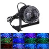 IR Remote RGB LED Crystal Magic Rotating Ball Stage Light Colorful ktv DJ light disco light Party Effect Light EU/US/UK plug P20