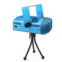 Blue Mini LED Laser Projector Red and Green Laser Stage Light Laser Lighting For Disco Party DJ Bar Club With EU OR  Plug