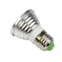 E27 4W RGB LED 16 Colors Changing Spotlight Lamp Bulb With Remote Control