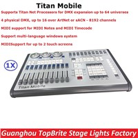 Titan Operating System Avolites Titan Mobile Controller Stage Console With 4 Physical DMX,Up To 16 Over ArtNet or sACN-8192 Chs