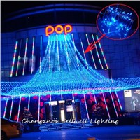 GREAT!Holiday lighting yard decoration 10m LED star lamp H136