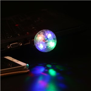 Portable USB Stage Lamp Disco Light Stage Party Lighting Color Changing 4w