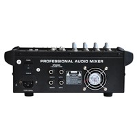 Freeboss PT5-USB 5 Channels Powered Audio Mixer DJ Equipment