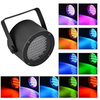 DJ Portable 86 RGB LED Stage Lights Par Party Show DMX-512 Lighting effect Disco Spotlight Projector for Wedding Party Bar Club