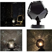 Three Bulb Light Colors Romantic Astro Star Sky Laser Projector Cosmos Night Light PET+ABS Lamp Starlight Projection Lamp Kit
