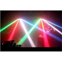 New 8X6W LED fan beam lights KTV bar lights KTV bars laser stage lights