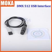 Usb dmx controller 512 Interface Adapter LED DMX512 Computer Stage Lighting Controller Dimmer Interface Converter