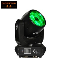 Gigertop TP-L672 6x40W Super Beam Amazing Hawkeye Led Moving Head Light Resin Lens 3pcs Silent Zoom Motor Ultimate Rotation