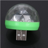 USB Port Mini Disco Light Portable Home Party Personal Entertainment Light Karaoke LED Christmas Decorations Atmosphere Light