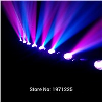 (2pcs) quick shipment new led spot moving head light LED RGB DJ Mini LED Spot/Gobos Moving Head Stage Light