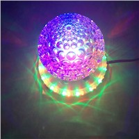 3W Auto Rotating Red Green Blue LED projector Stage Light DJ bar disco Magic Ball Lights Christmas Halloween party effect lights