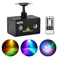 AUCD Mini Remote RG Laser Light Professional Aurora RGB LED Stage Lighting Party Disco Show DJ Home Wedding Lighting LL-A200RG