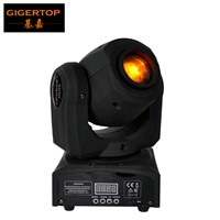 Professional American DJ Stage Light CREE 10W Led Pocket Moving Head Spot LCD Display Rotating Color Gobo Wheel Manual Focus