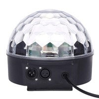 LumiParty Colour Changing 27W Creative LED Stage Laser Lamp Crystal Ball Light Club Disco DJ Party Bar Sound Sensor Decoration