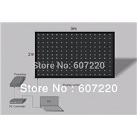 Led Video Curtain Led display curtain P9 2M*3M  DJ effect light  Wedding Backdrops Stage Background