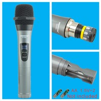 Freeboss Professional Microphones Dual Channel Handhelds Whole Metal Shell Mic Karaoke System Family Party Wireless Microphone