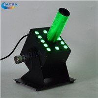 Special LED CO2 Fog Machine Dj Co2 Cannon Spray 8-10Meters Jet Machine+6 Meter Hose