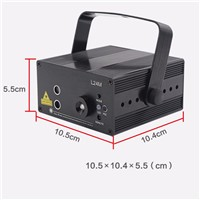 AC 110-240V/50-60HZ  FULL COLOR RGB LASER STAGE LIGHTING RED GREEN BLUE LED DJ Disco Party Home Wedding Club  Light(US)
