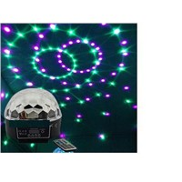 RA-T-04,DMX512 colorful LED crystal magic ball light with remote controller,sound controlled,KTV,bar