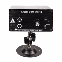 Full Color Party Show Stage LED Laser Projector Light Red Green Blue with Remote Control Switch Laser Projector