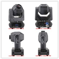 2 pieces nightclub led 2017 mini moving head 60w led spot moving head 3 facet prism with powercon connector