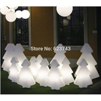1 piece colorful changeable rechargeable LED light tree of led floor lamp Christmas decoration glowing light outdoor/indoor