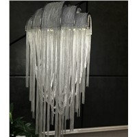 American Nordic Style Aluminum Tassel Lamp stand Luxury Floor Lamp for Bedroom Living room Decorative Lighting