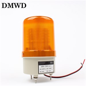 AC220V Red Yellow Green Blue Rotating Beacon Warning Light Lamp Spiral Fixed Warning Light Beacon for Industrial LTE-1101