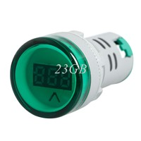 2017 AC 60V-450V Digital display Voltmeter Combined indicator light 22MM MAR24_15