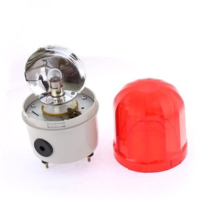 24V 10W Plastic Shell Led Flash Strobe Industrial Signal Alarm Security Warning Lamp Red