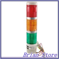 Industrial Tower Signal Safety LED Alarm Light Indicator w Bracket