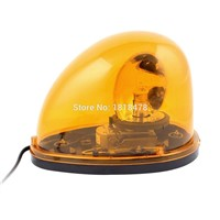 LTD-1201 DC12V DC24V Vehicle Car Yellow Emergency Beacon Rotary Warning Light