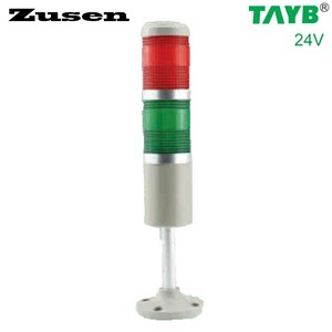 Zusen 50mm TB50-2T-D 24v red and green LED  signal tower light