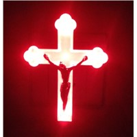 Novelty Product LED Night Lamp Jesus Shape 220-240V EU Plug