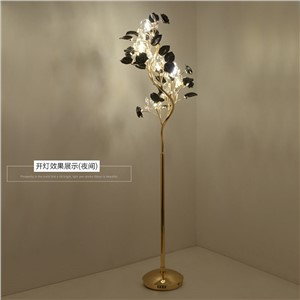 Special living room bedroom bedside Floor lamps European style villa luxury decorative crystal floor lamp LED eye lighting lmaps
