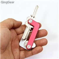 QingGear OKEY Advanced Key Organizer Travel Key Kits Light Weight Quickly and Easily Open door key Holder folder keys bar Tool